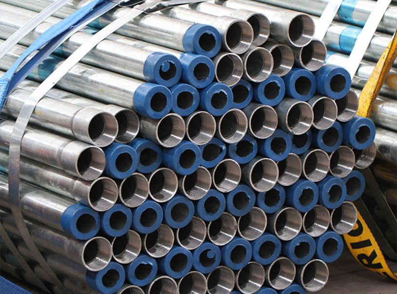 Threaded Galvanized Steel Pipe