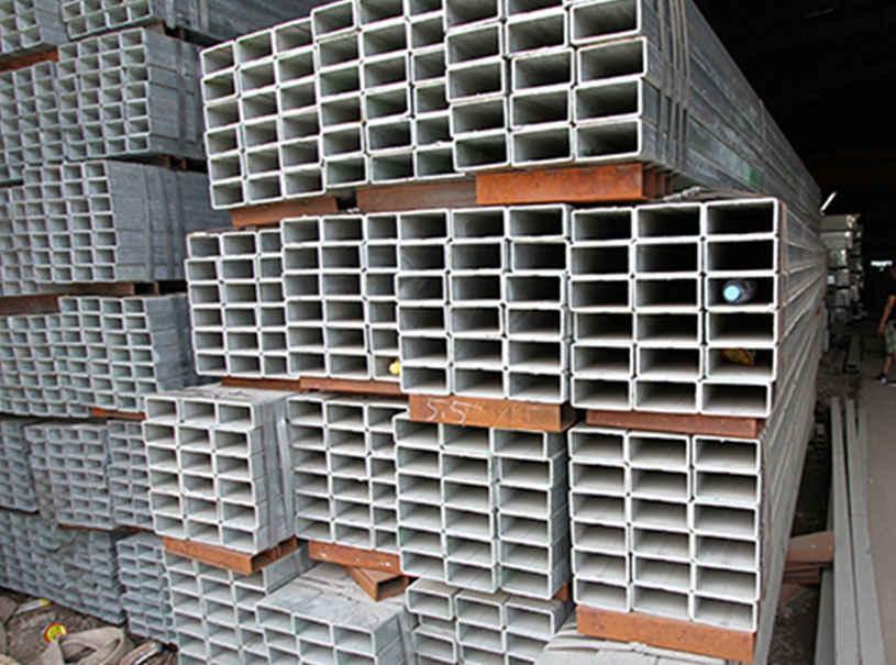 Rectangular Galvanized Steel Pipe