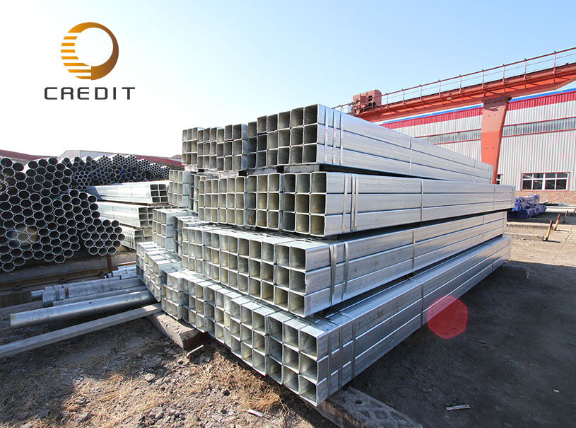 section square and rectangular steel gi quare pipe