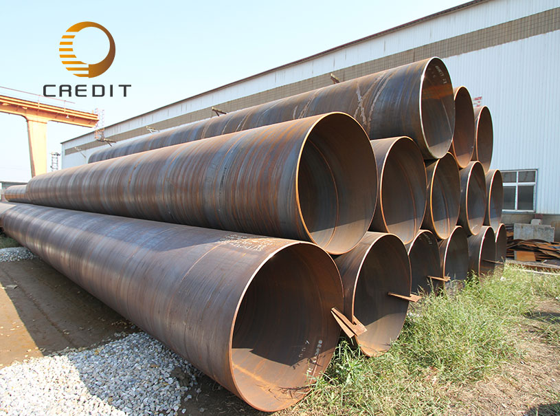 Low Carbon Welded Steel Ssaw Spiral pipe